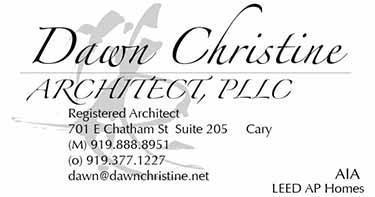 dawn christine, architect