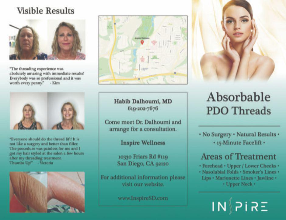 15 minute Face Lift and or Neck Enhancement with PDO Threads