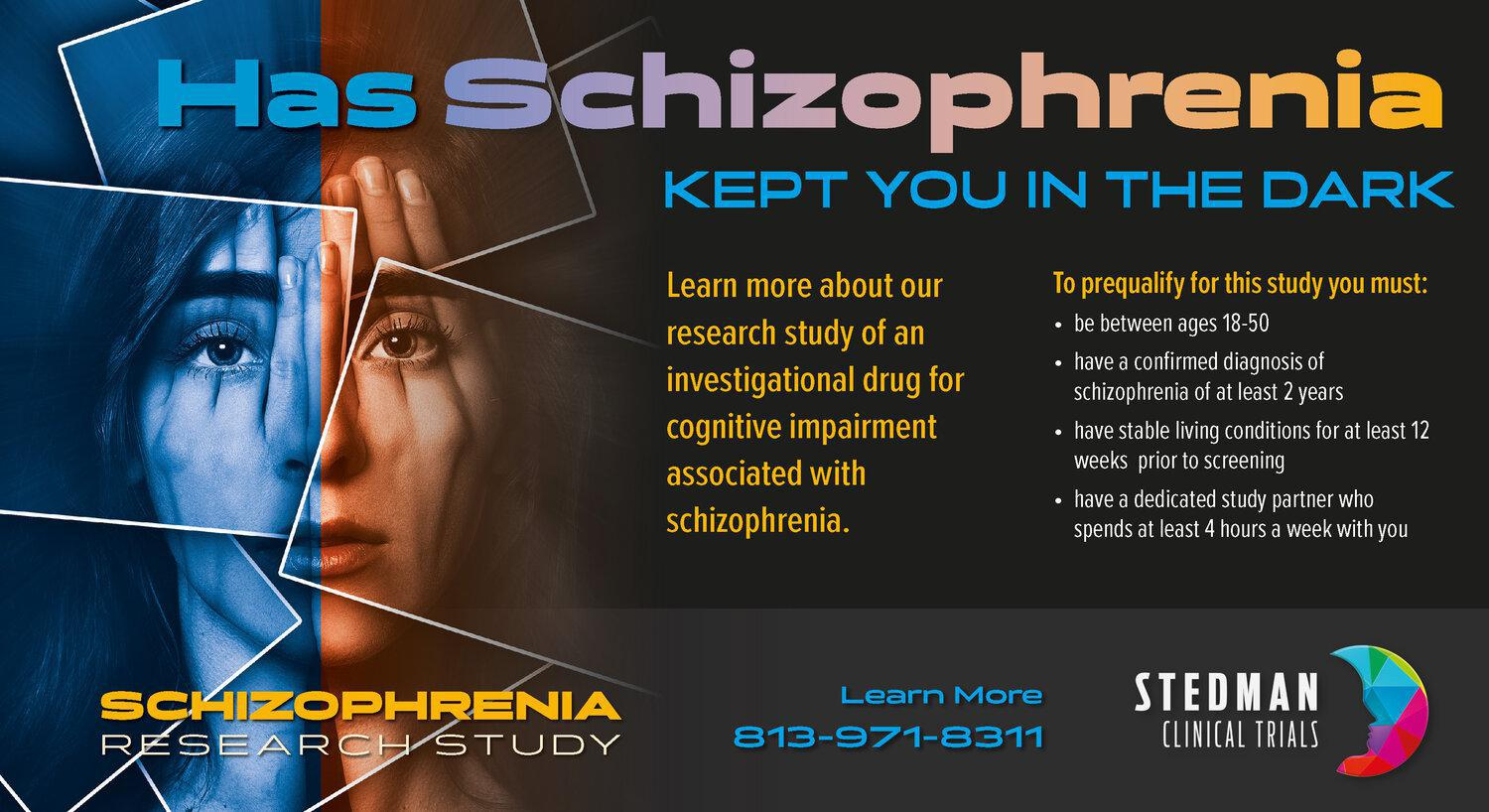 Schizophrenia research study