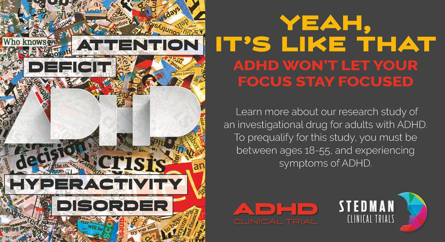 ADHD Stay Focused