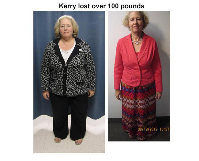 kerry lose one hundred pounds