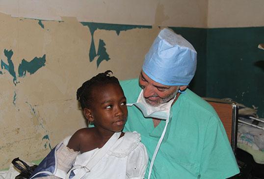 Dr. Weiss Haiti outreach