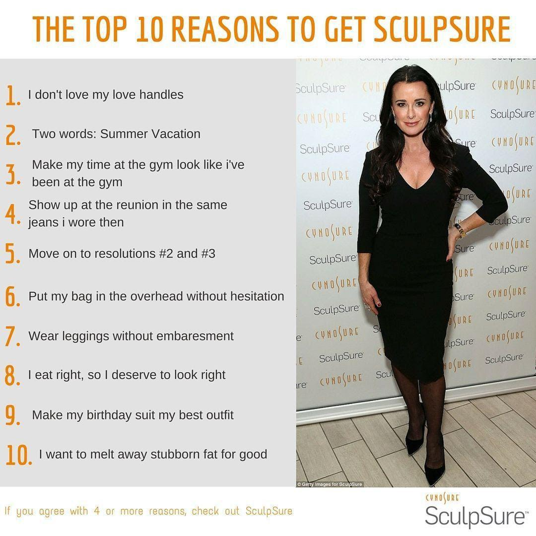 10 Reasons to get Sculpsure