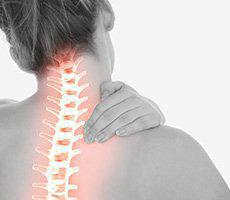 Neck Pain on Spinal cord