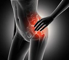 Sciatica spinal cord pain