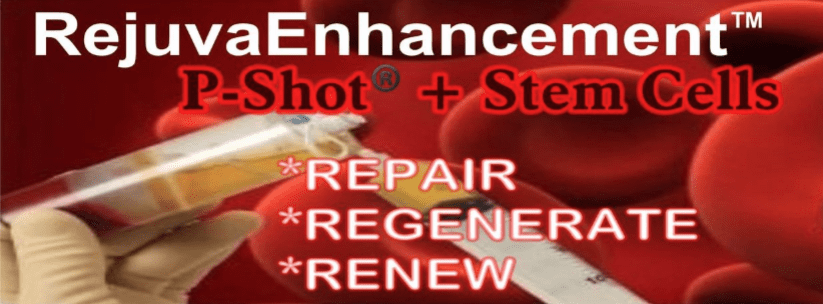 P-Shot plus Stem Cells  Supercharge the P SHot   Repair -Regenerate- Renew