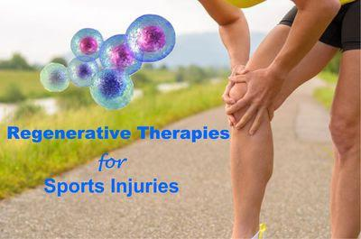 Regenerative Stem Cell Therapy for Sport Injuries, joint pain, tendonitis, bursitis