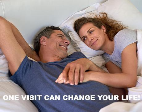 One visit to Simply Men's Health for Erectile Dysfunction Treatment can change your life - guarantee results
