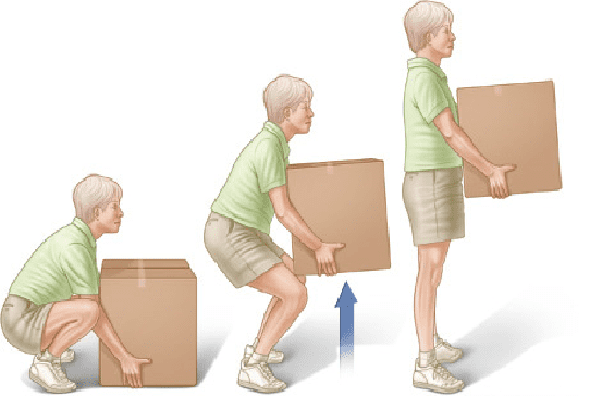 How to Avoid Back Injury Lifting a Box
