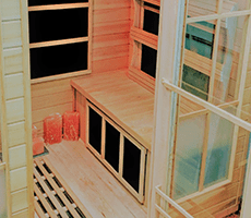 Infrared Salt Sauna
