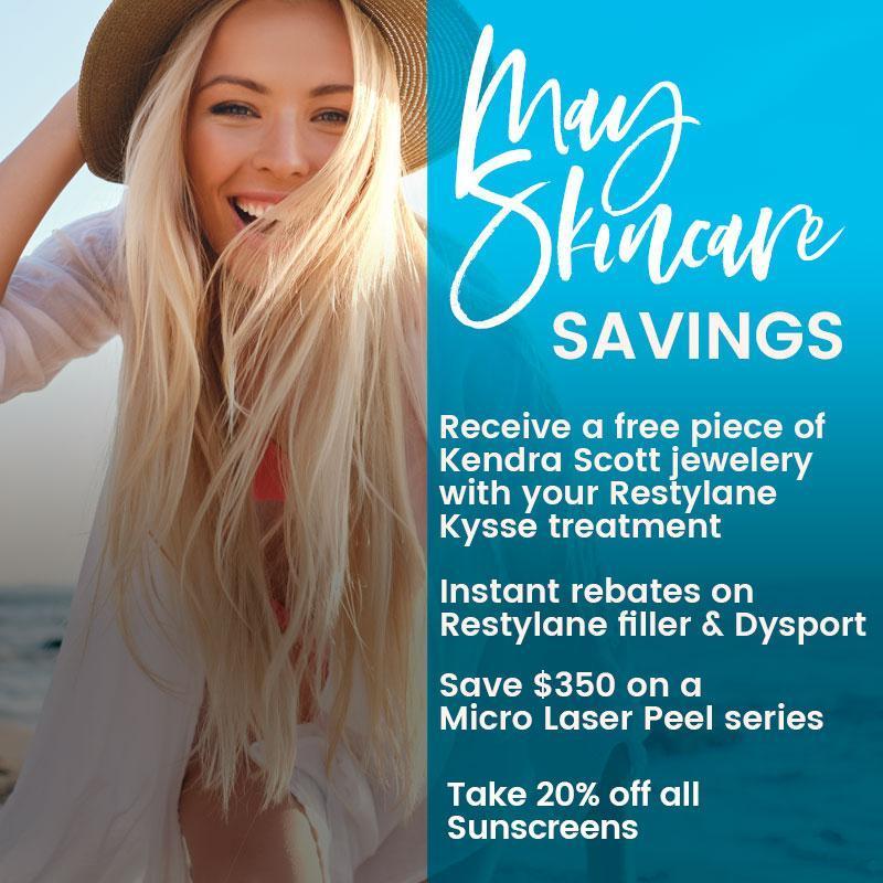 May Skincare Savings