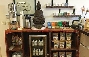 Refreshment bar at Lotus