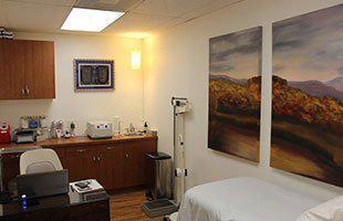 Lotus treatment room