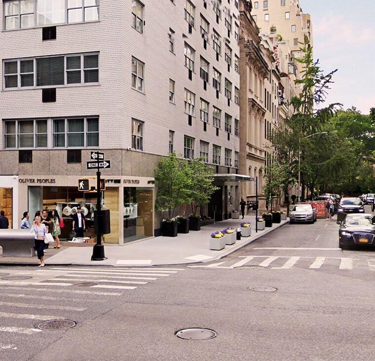 Office locations city block