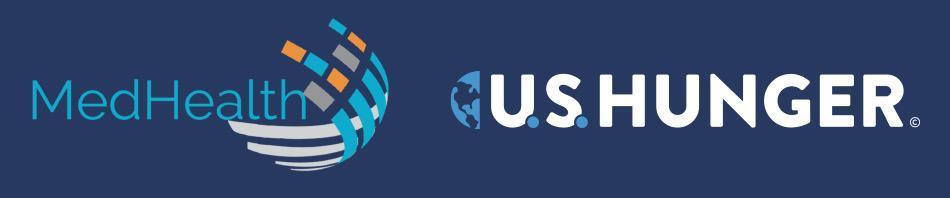 Medical Health and US Hunger Logos
