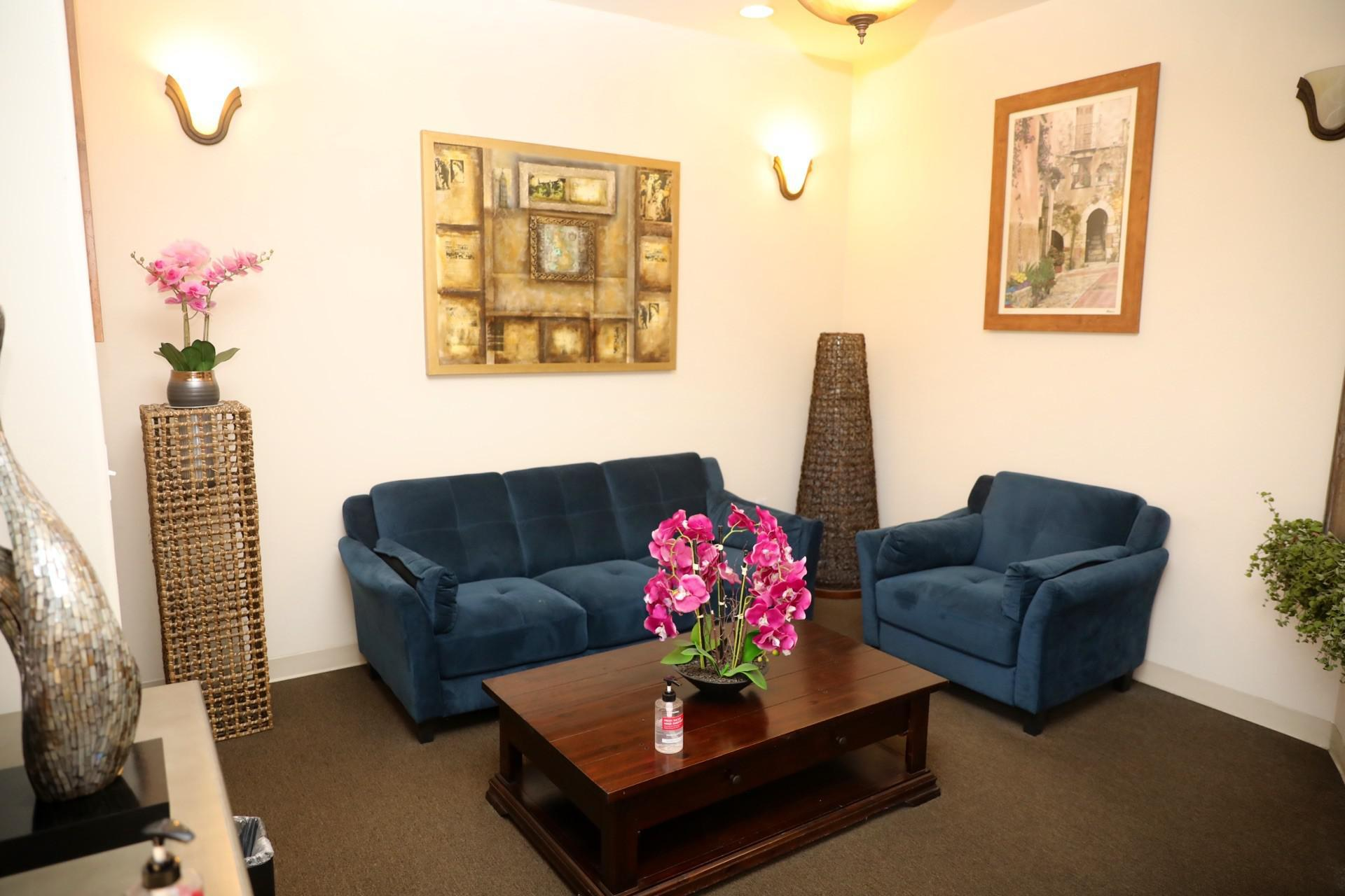 Front office/waiting room