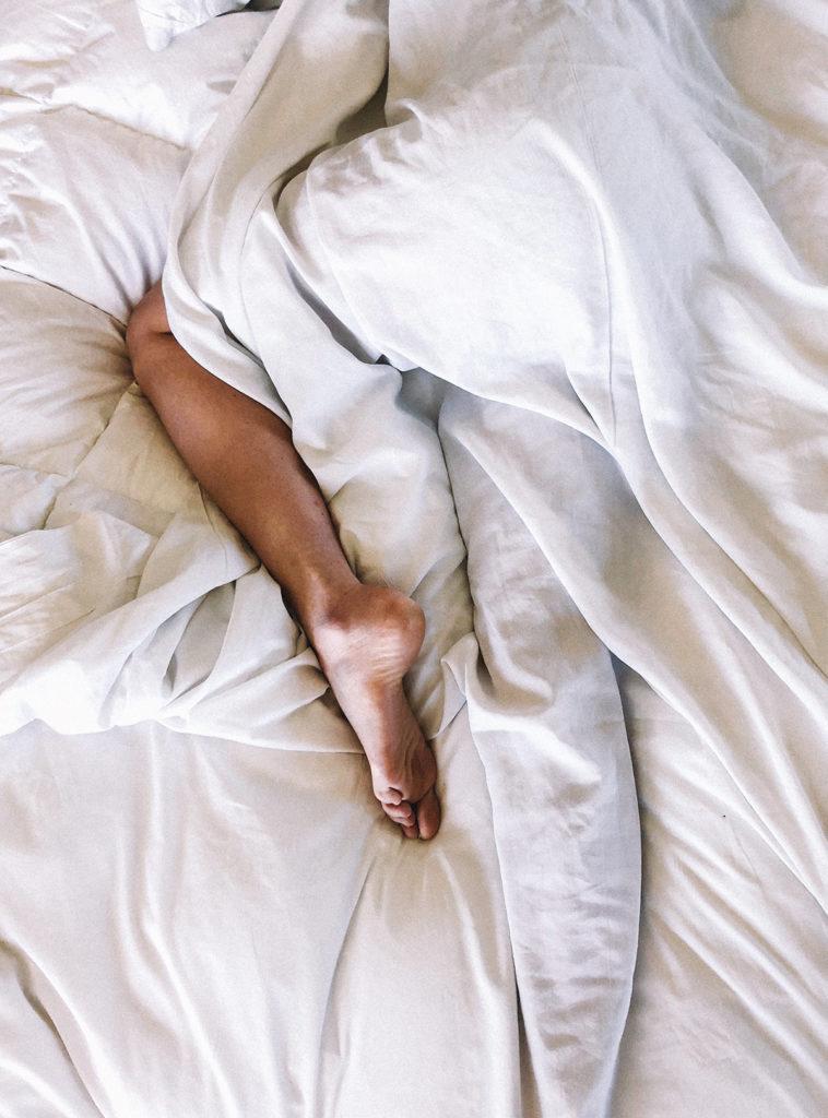 Legs in sheets