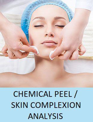 Chemical Peels/Skin Complexion Analysis