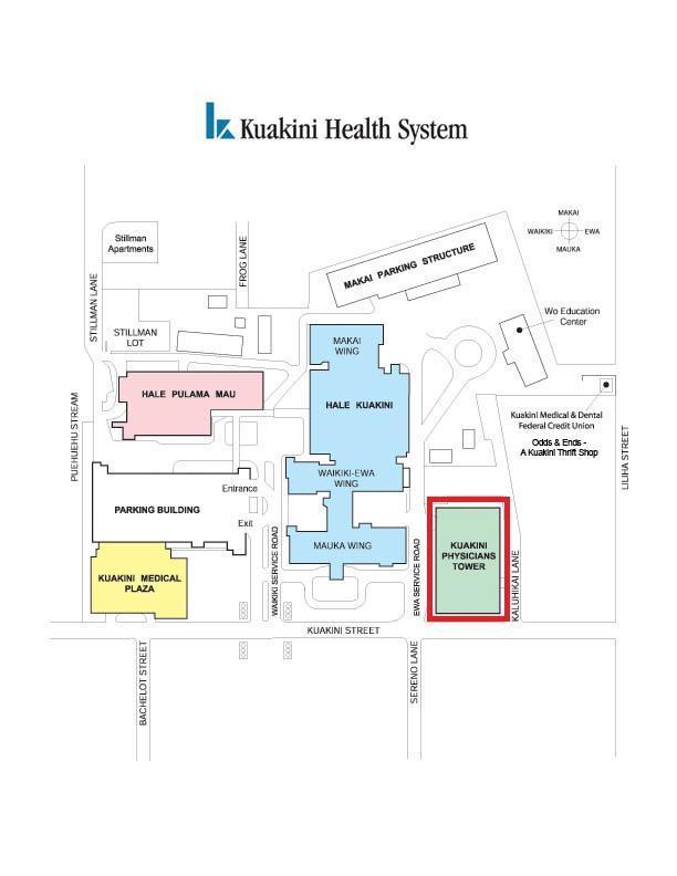 Kuakini Map