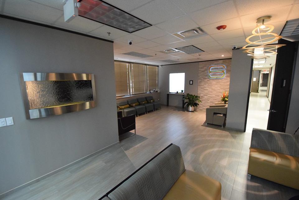 Sprintz center lobby