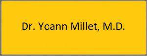 Dr. Millet scheduling button