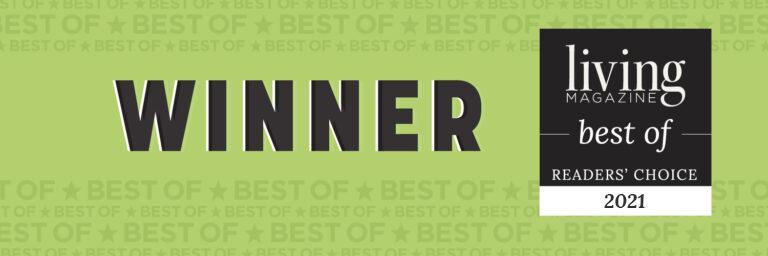 Winner Best of Readers' Choice