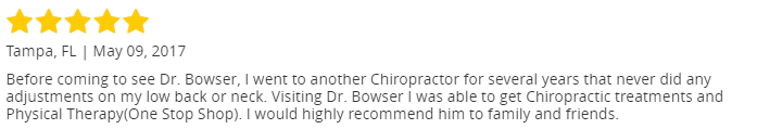 image of a testimonial review