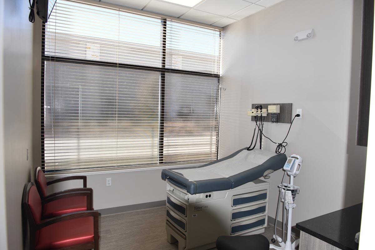 image of exam room