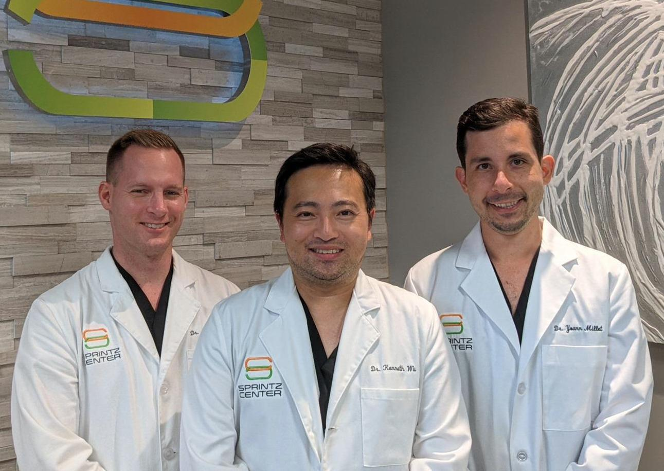 Dr. Wu, Dr. White, and Dr. Millet