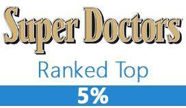 Super Doctors Ranked Top 5%
