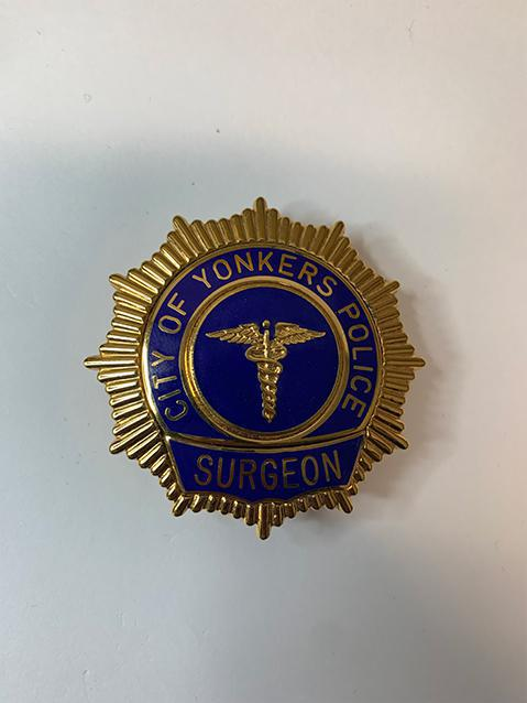 City of Yonkers police surgeon badge
