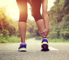 Radiating ankle pain to highlight Orthobiological Treatments Service