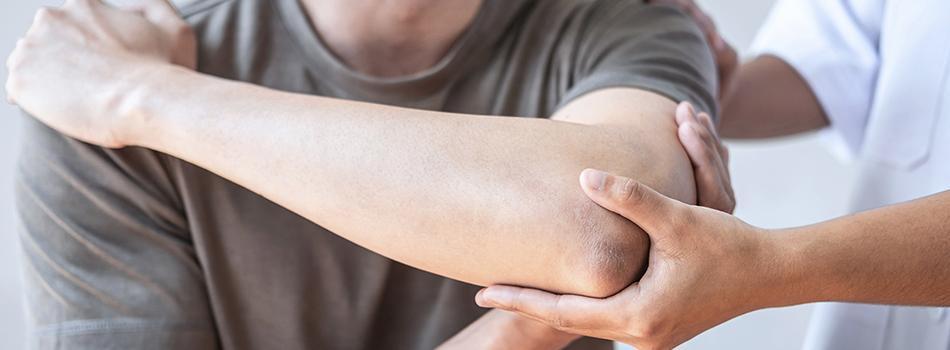 Patient Experiencing Arm Pain