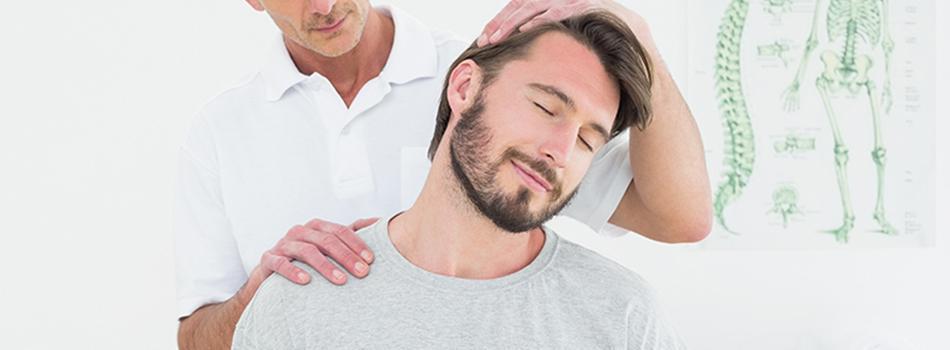 Patient experiencing Neck Pain