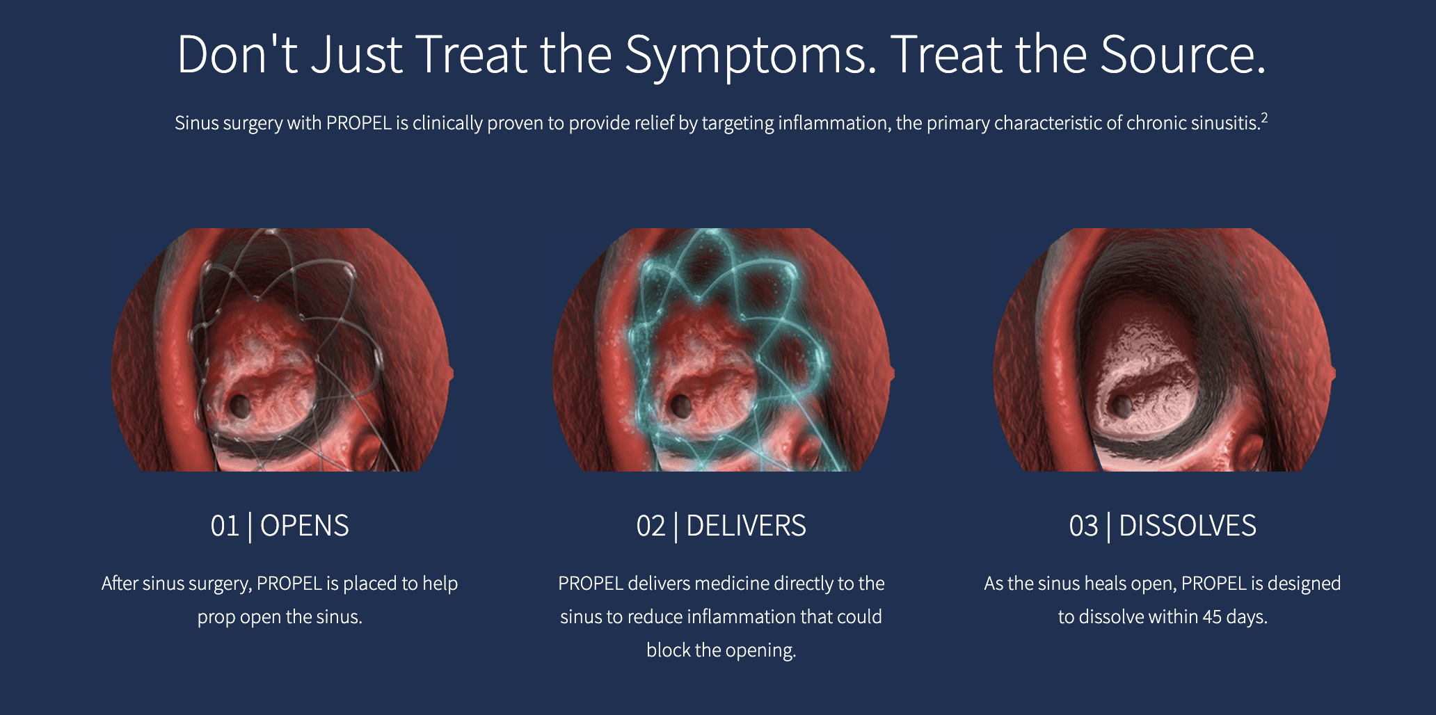 Don't Just Treat the Symptoms. Treat the Source.