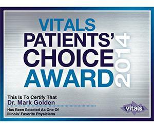 Vitals Patients' Choice Award 2014