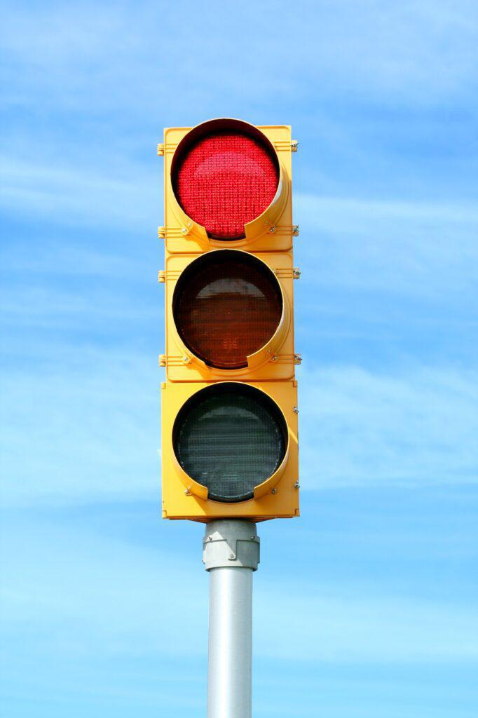 photo of stoplight