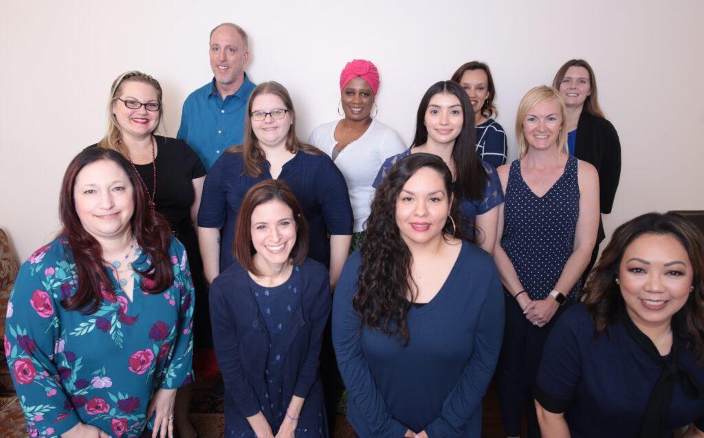 photo of full staff