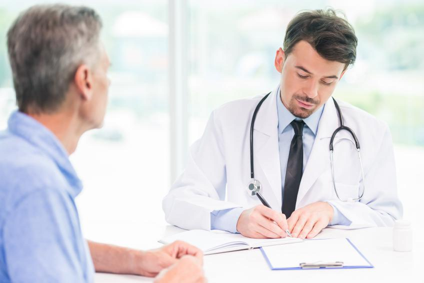 Image of Doctor taking notes