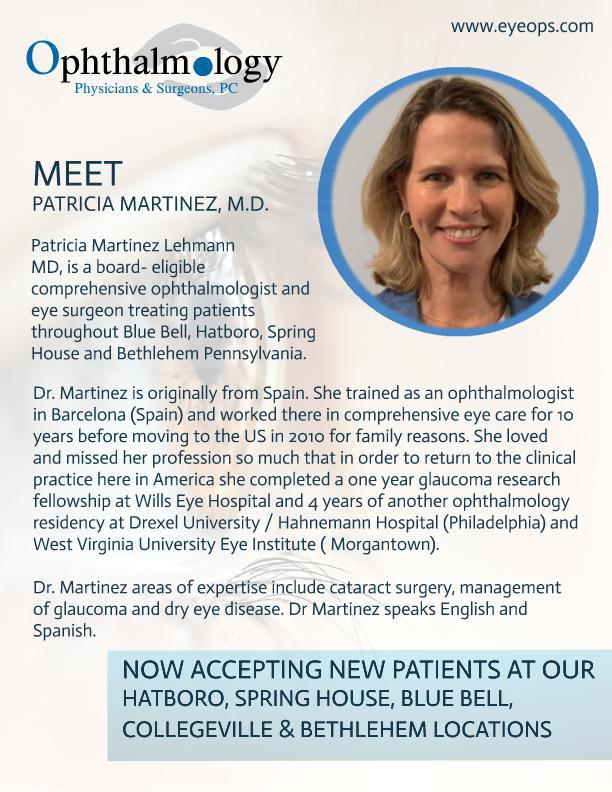 Welcome Dr. Martinez