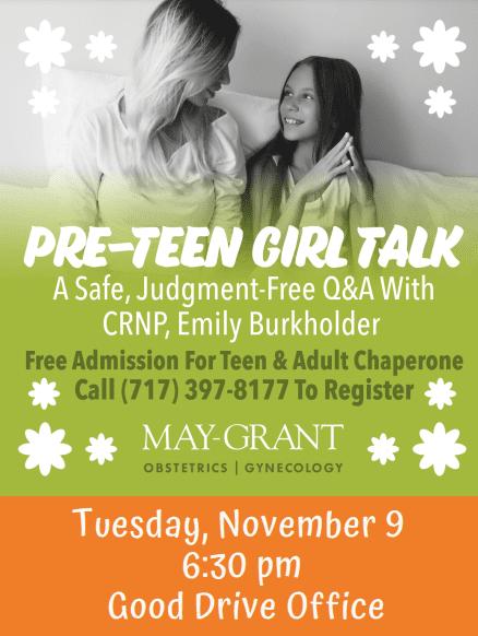 Pre Teen Girl Talk