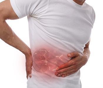 Man in Pain from Kidney Stones
