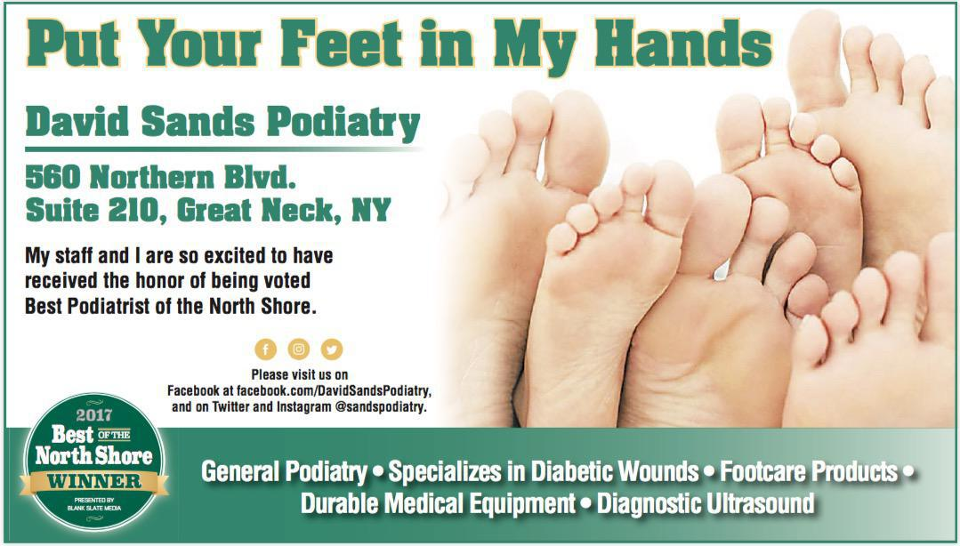 David J Sands Dpm Podiatrist Foot Surgeon Great Neck Ny