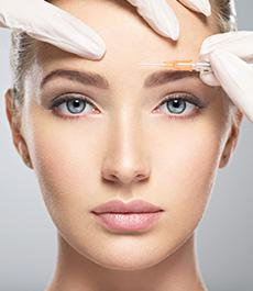 woman with botox  MDinjecter