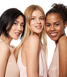 three women of different race