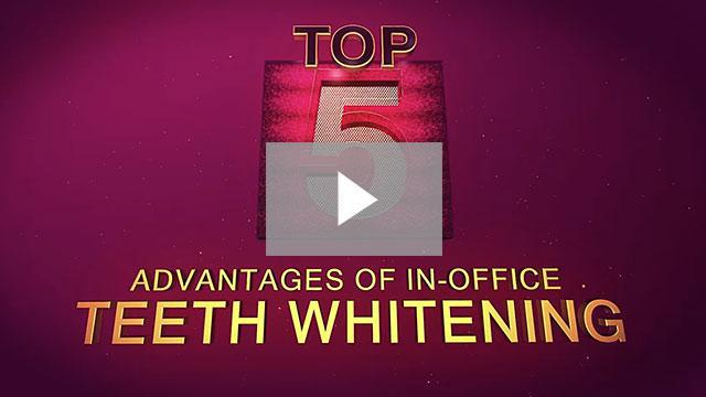 Top 5 Advantages of In-Office Teeth Whitening - Leesburg, FL: HB Dental