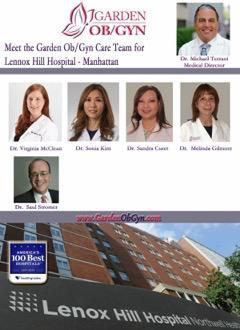 LENOX HILL HOSPITAL Is Now A Garden OB/GYN Delivering
