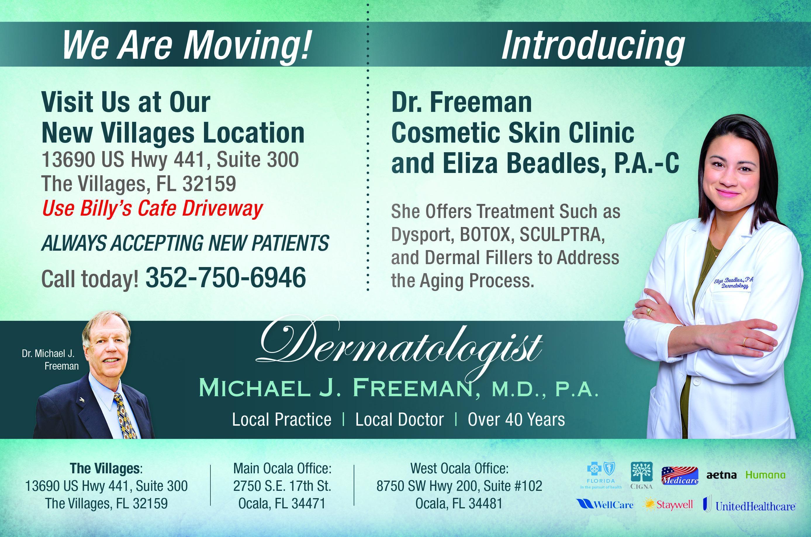 Michael J  Freeman M D, P A: Dermatology Clinic: Ocala, FL