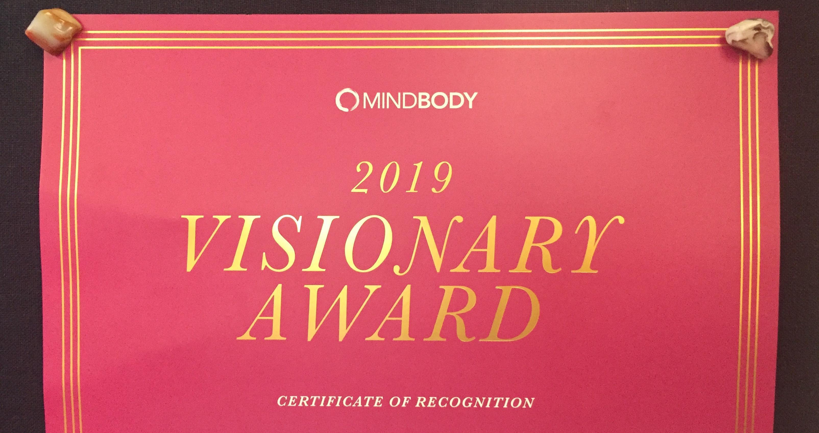 2019 Visionary Award