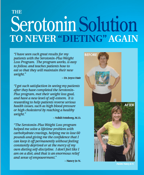 Weight Control and Mental Disease: Serotonin Plus: Weight ...